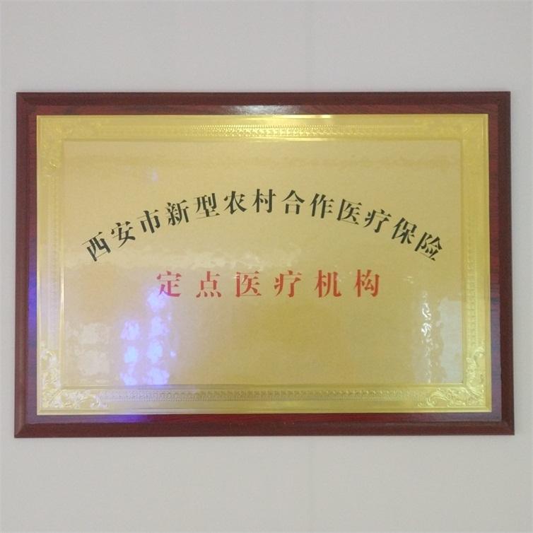 西安市新型农村合作医疗保险 医疗机构